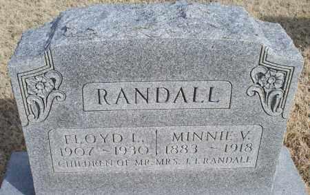 RANDALL, MINNIE V. - Nowata County, Oklahoma   MINNIE V. RANDALL - Oklahoma Gravestone Photos