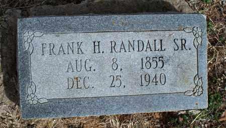 RANDALL, FRANK H. SR. - Nowata County, Oklahoma | FRANK H. SR. RANDALL - Oklahoma Gravestone Photos