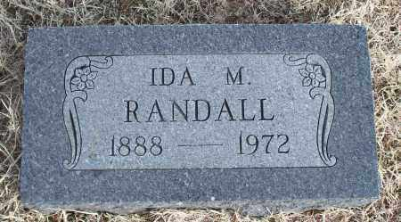 RANDALL, IDA M. - Nowata County, Oklahoma | IDA M. RANDALL - Oklahoma Gravestone Photos