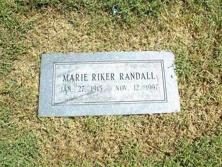 RANDALL, MARIE - Nowata County, Oklahoma   MARIE RANDALL - Oklahoma Gravestone Photos
