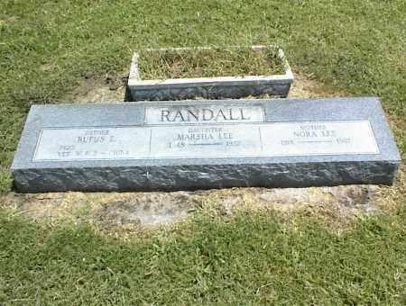 RANDALL, MARSHA LEE - Nowata County, Oklahoma | MARSHA LEE RANDALL - Oklahoma Gravestone Photos
