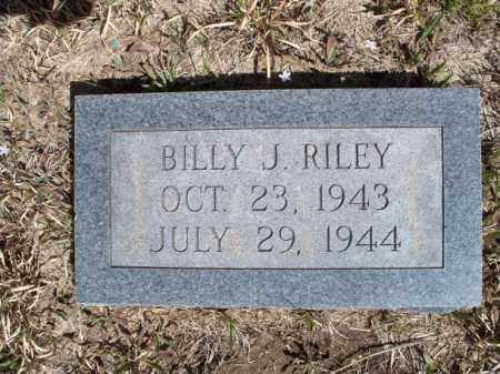 RILEY, BILLY J. - Nowata County, Oklahoma | BILLY J. RILEY - Oklahoma Gravestone Photos
