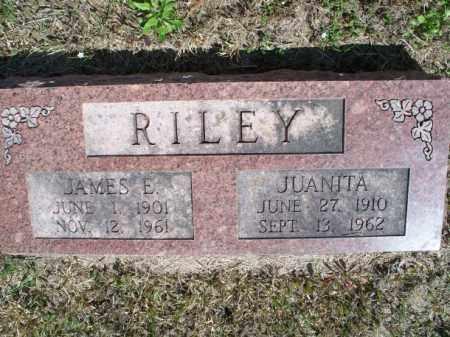 RILEY, JAMES E. - Nowata County, Oklahoma | JAMES E. RILEY - Oklahoma Gravestone Photos