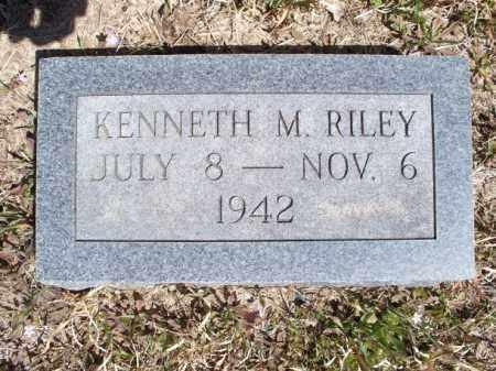 RILEY, KENNETH M. - Nowata County, Oklahoma | KENNETH M. RILEY - Oklahoma Gravestone Photos