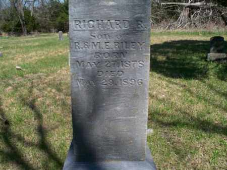 RILEY, RICHARD R. - Nowata County, Oklahoma | RICHARD R. RILEY - Oklahoma Gravestone Photos