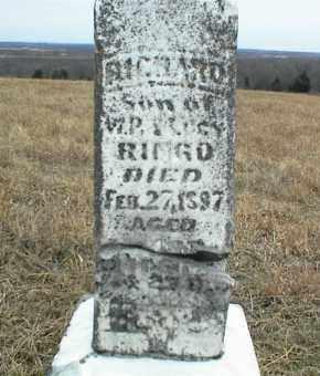 RINGO, RICHARD - Nowata County, Oklahoma | RICHARD RINGO - Oklahoma Gravestone Photos