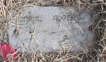 ROGERS, PAUL - Nowata County, Oklahoma | PAUL ROGERS - Oklahoma Gravestone Photos