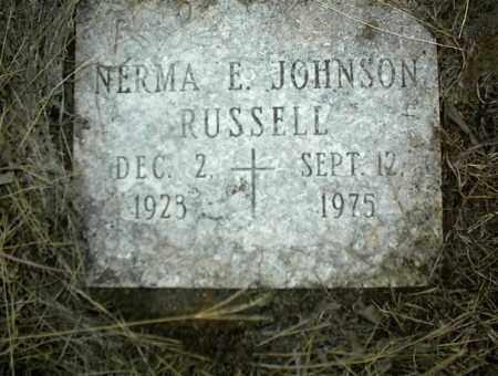RUSSELL, NERMA E. - Nowata County, Oklahoma   NERMA E. RUSSELL - Oklahoma Gravestone Photos