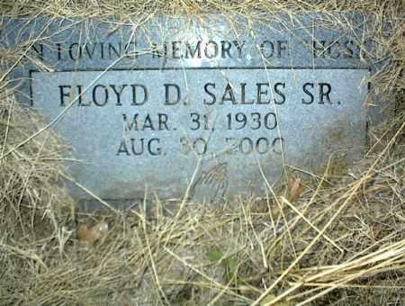 SALES, FLOYD D. SR. - Nowata County, Oklahoma | FLOYD D. SR. SALES - Oklahoma Gravestone Photos