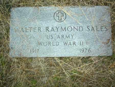 SALES (VETERAN WWII), WALTER RAYMOND - Nowata County, Oklahoma   WALTER RAYMOND SALES (VETERAN WWII) - Oklahoma Gravestone Photos