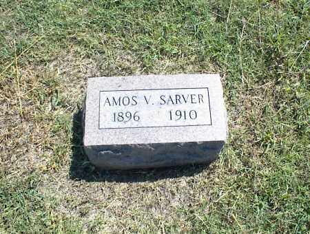 SARVER, AMOS V. - Nowata County, Oklahoma | AMOS V. SARVER - Oklahoma Gravestone Photos