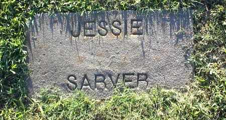 SARVER, JESSIE - Nowata County, Oklahoma | JESSIE SARVER - Oklahoma Gravestone Photos