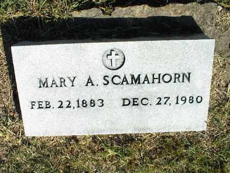 SCAMAHORN, MARY A. - Nowata County, Oklahoma | MARY A. SCAMAHORN - Oklahoma Gravestone Photos