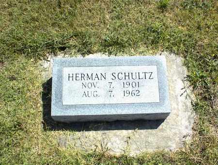SCHULTZ, HERMAN - Nowata County, Oklahoma | HERMAN SCHULTZ - Oklahoma Gravestone Photos