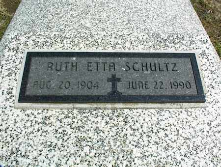 SCHULTZ, RUTH ETTA - Nowata County, Oklahoma | RUTH ETTA SCHULTZ - Oklahoma Gravestone Photos