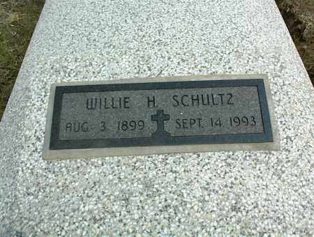 SCHULTZ, WILLIE H. - Nowata County, Oklahoma | WILLIE H. SCHULTZ - Oklahoma Gravestone Photos