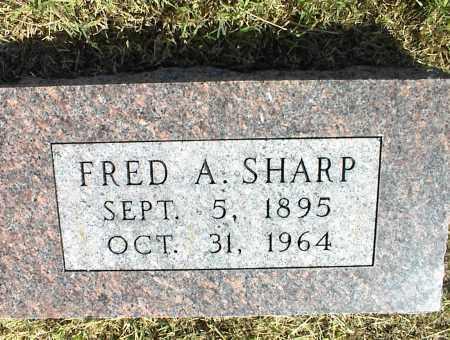 SHARP, FRED A. - Nowata County, Oklahoma | FRED A. SHARP - Oklahoma Gravestone Photos