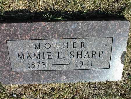 SHARP, MAMIE E. - Nowata County, Oklahoma | MAMIE E. SHARP - Oklahoma Gravestone Photos
