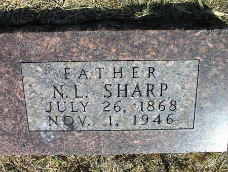 SHARP, N. L. - Nowata County, Oklahoma | N. L. SHARP - Oklahoma Gravestone Photos
