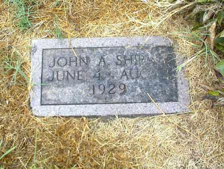 SHIPLEY, JOHN A. - Nowata County, Oklahoma   JOHN A. SHIPLEY - Oklahoma Gravestone Photos