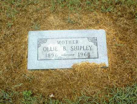 SHIPLEY, OLLIE B. - Nowata County, Oklahoma   OLLIE B. SHIPLEY - Oklahoma Gravestone Photos