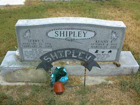 SHIPLEY, TERRY I. - Nowata County, Oklahoma   TERRY I. SHIPLEY - Oklahoma Gravestone Photos