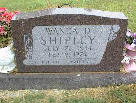 SHIPLEY, WANDA D. - Nowata County, Oklahoma | WANDA D. SHIPLEY - Oklahoma Gravestone Photos