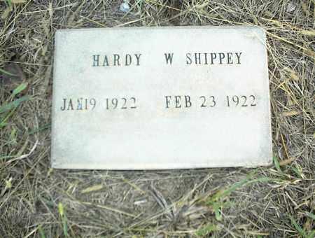 SHIPPEY, HARDY W. - Nowata County, Oklahoma | HARDY W. SHIPPEY - Oklahoma Gravestone Photos