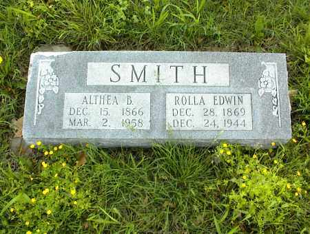 SMITH, ROLLA EDWIN - Nowata County, Oklahoma | ROLLA EDWIN SMITH - Oklahoma Gravestone Photos