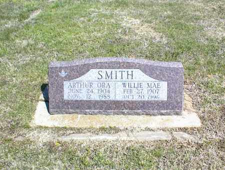 SMITH, ARTHUR ORA - Nowata County, Oklahoma | ARTHUR ORA SMITH - Oklahoma Gravestone Photos