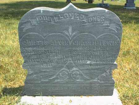 SMITH, CURTIS ALVIN - Nowata County, Oklahoma   CURTIS ALVIN SMITH - Oklahoma Gravestone Photos