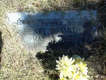 SMITH, HENRY B. - Nowata County, Oklahoma   HENRY B. SMITH - Oklahoma Gravestone Photos