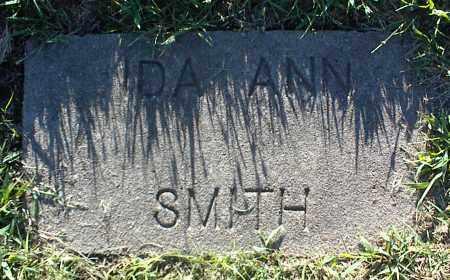 SMITH, IDA ANN - Nowata County, Oklahoma | IDA ANN SMITH - Oklahoma Gravestone Photos