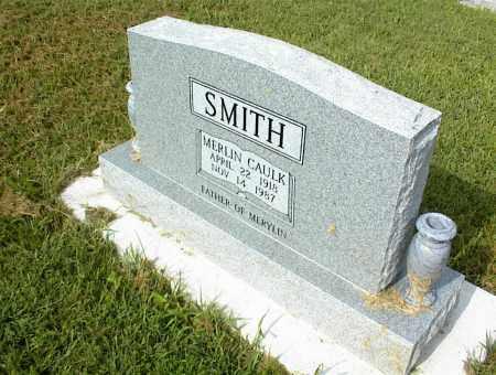 SMITH, MERLIN CAULK - Nowata County, Oklahoma | MERLIN CAULK SMITH - Oklahoma Gravestone Photos
