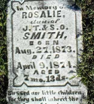 SMITH, ROSALIE - Nowata County, Oklahoma | ROSALIE SMITH - Oklahoma Gravestone Photos