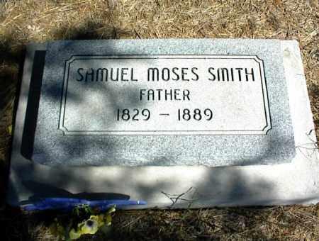 SMITH, SAMUEL MOSES - Nowata County, Oklahoma | SAMUEL MOSES SMITH - Oklahoma Gravestone Photos