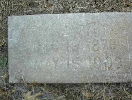 SMITH, X - Nowata County, Oklahoma | X SMITH - Oklahoma Gravestone Photos