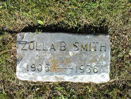 SMITH, ZOLLA B. (OLD) - Nowata County, Oklahoma | ZOLLA B. (OLD) SMITH - Oklahoma Gravestone Photos