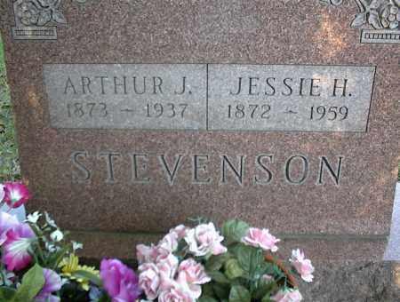 STEVENSON, ARTHUR J. - Nowata County, Oklahoma | ARTHUR J. STEVENSON - Oklahoma Gravestone Photos