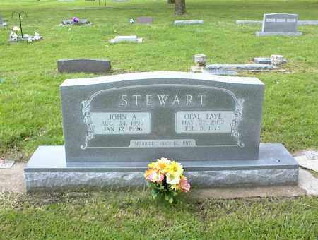 STEWART, OPAL FAYE - Nowata County, Oklahoma | OPAL FAYE STEWART - Oklahoma Gravestone Photos