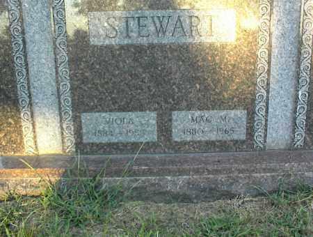 STEWART, VIOLA - Nowata County, Oklahoma   VIOLA STEWART - Oklahoma Gravestone Photos