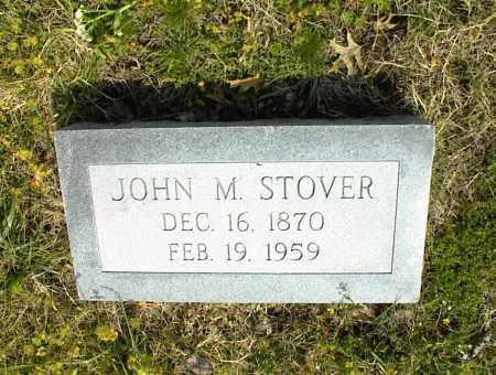 STOVER, JOHN M. - Nowata County, Oklahoma   JOHN M. STOVER - Oklahoma Gravestone Photos