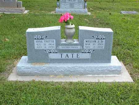 TATE, WILLIAM J. SR. - Nowata County, Oklahoma | WILLIAM J. SR. TATE - Oklahoma Gravestone Photos