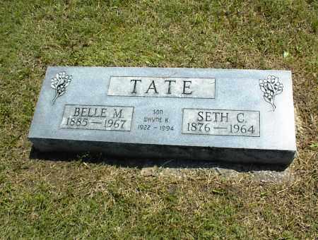 TATE, SETH C. - Nowata County, Oklahoma | SETH C. TATE - Oklahoma Gravestone Photos