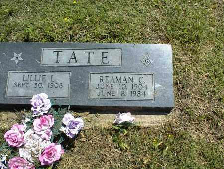 TATE, REAMAN C. - Nowata County, Oklahoma | REAMAN C. TATE - Oklahoma Gravestone Photos