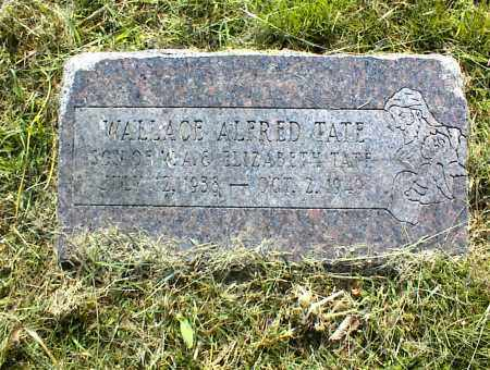 TATE, WALLACE ALFRED - Nowata County, Oklahoma   WALLACE ALFRED TATE - Oklahoma Gravestone Photos