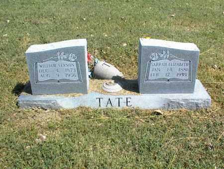 TATE, SARRAH ELIZABETH - Nowata County, Oklahoma | SARRAH ELIZABETH TATE - Oklahoma Gravestone Photos