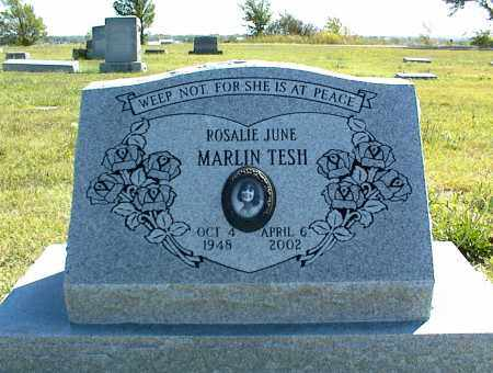 TESH, ROSALIE JUNE - Nowata County, Oklahoma | ROSALIE JUNE TESH - Oklahoma Gravestone Photos