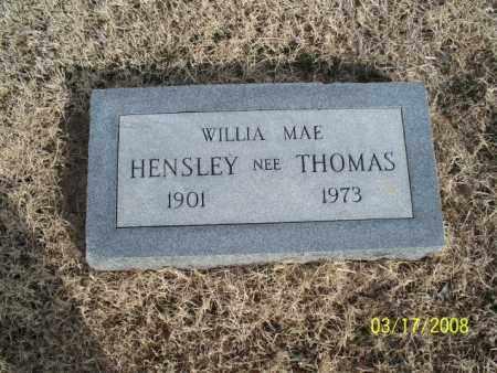 THOMAS, WILLIA MAE - Nowata County, Oklahoma | WILLIA MAE THOMAS - Oklahoma Gravestone Photos
