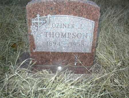 THOMPSON, OZINER L. - Nowata County, Oklahoma | OZINER L. THOMPSON - Oklahoma Gravestone Photos